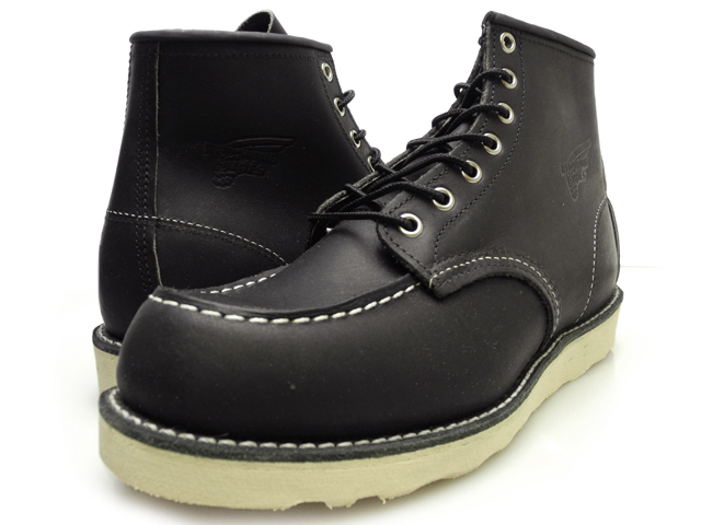 [] Red Wing REDWING 9075 MOC TOE CLASSIC BLACK モックトゥ classic black REDWING  9075 ◇