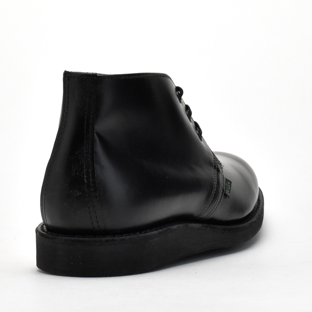 9196 red wing REDWING POSTMAN BLACK CHAPARRAL レッドウイングポストマンチャッカブーツブラックシャパレル real leather work classical music boots◆