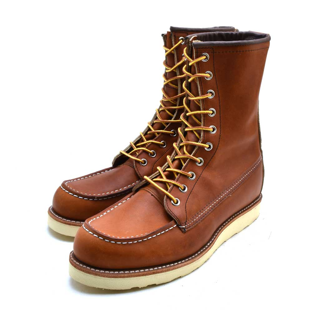 77aa1d8fd8a Red wing red wing 877 classical music work 8 inches mock toe red wing  redwing 877 classic work 8inch moc-toe