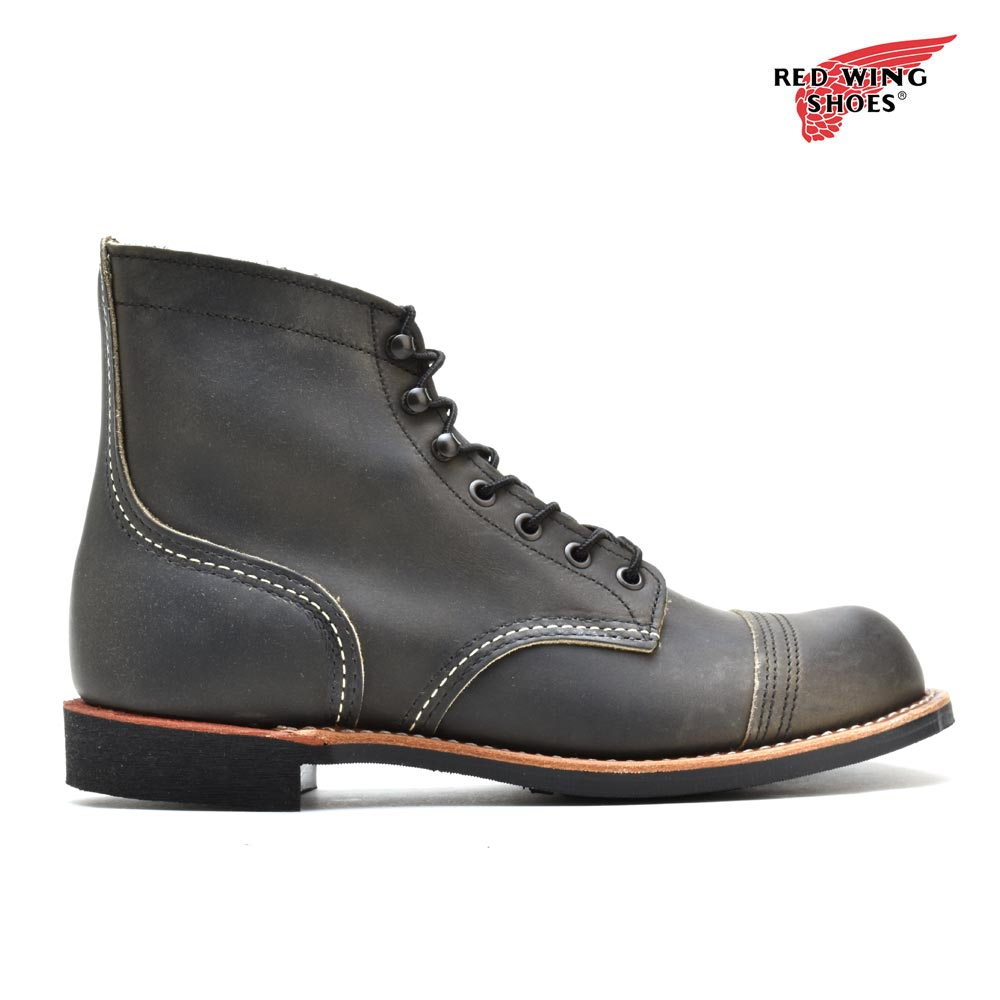 e438fa13e78 Red wing red wing 8086 iron range work boots D Wise vibram sole charcoal  redwing 8086 IRON RANGER VibrAm