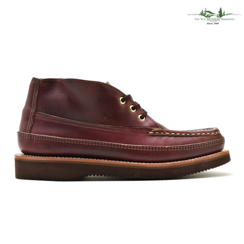 Raschel moccasins RUSSELL MOCCASIN 200