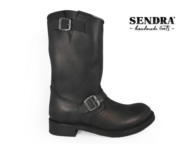 センドラ SENDRA 2944 SPRINTER NEGRO ワークブーツ メンズ