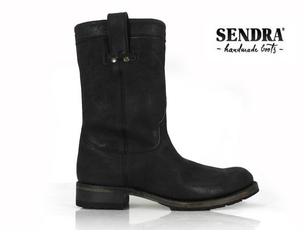 センドラ SENDRA 7133 PINO NEGRO ワークブーツ メンズ