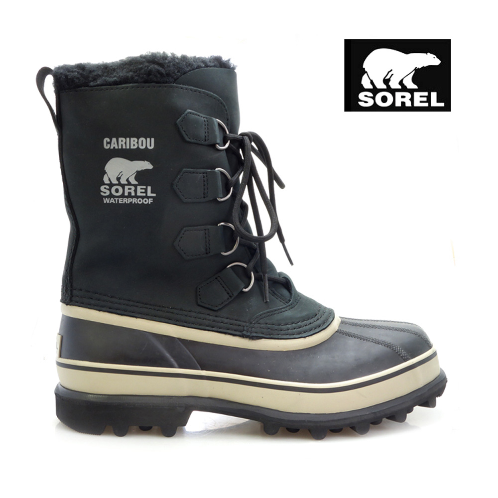 e87c1f04e51f Sorel SOREL boots caribou Black Tusk men s men (Sorel CARIBOU Black Tusk  Boot Boots snow boots winter