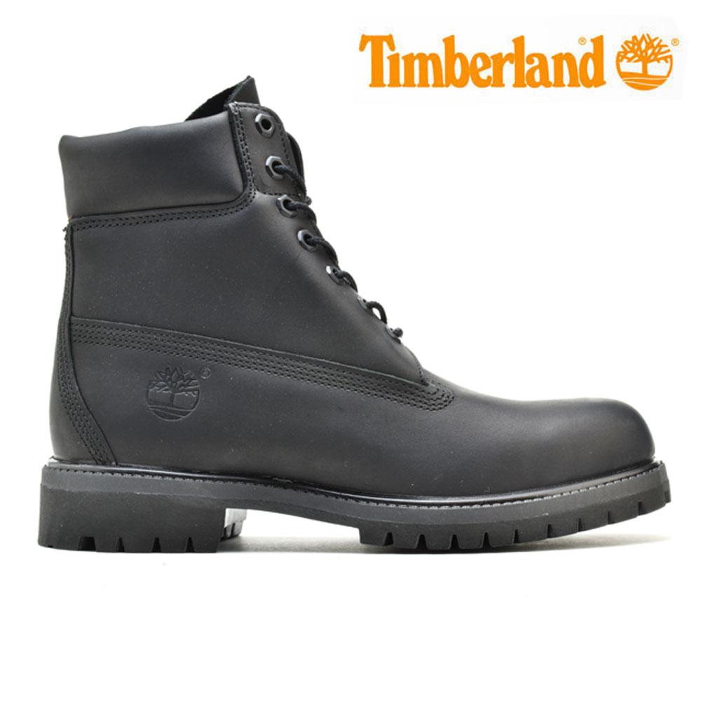 ティンバーランド Timberland Icon 6 Premium Boot A1GAU アイコン6 プレミアム ブーツ ワークブーツ メンズ ブラック 黒 BLACK