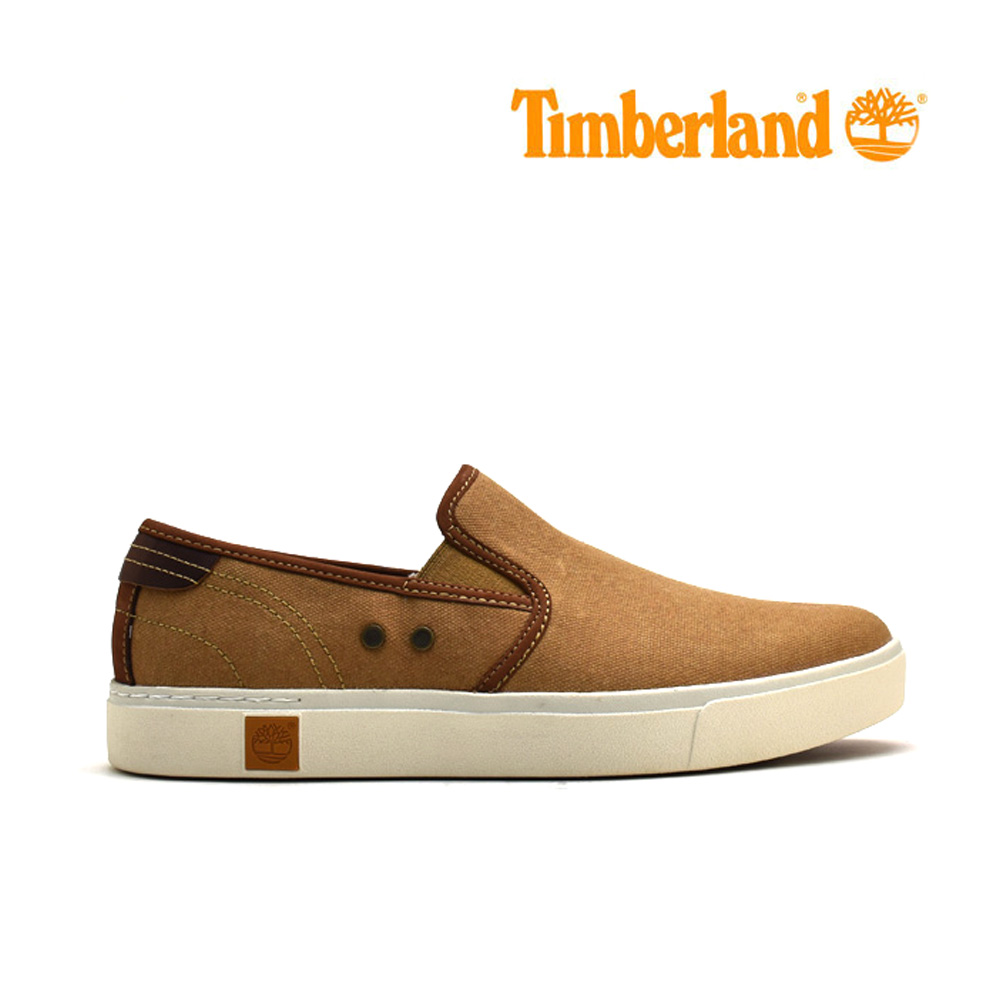 914dc61174 Timberland slip-ons men TIMBERLAND AMHERST SLIP ON A15LW BONE BROWN Vaughn  brown ...