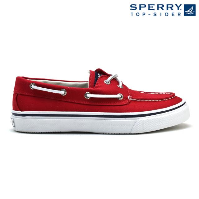 スペリートップサイダー SPERRY TOPSIDER BAHAMA 2-EYE VARSITY 10650 RED バハマ 2アイレット 赤 レッド カジュアル スニーカー メンズ