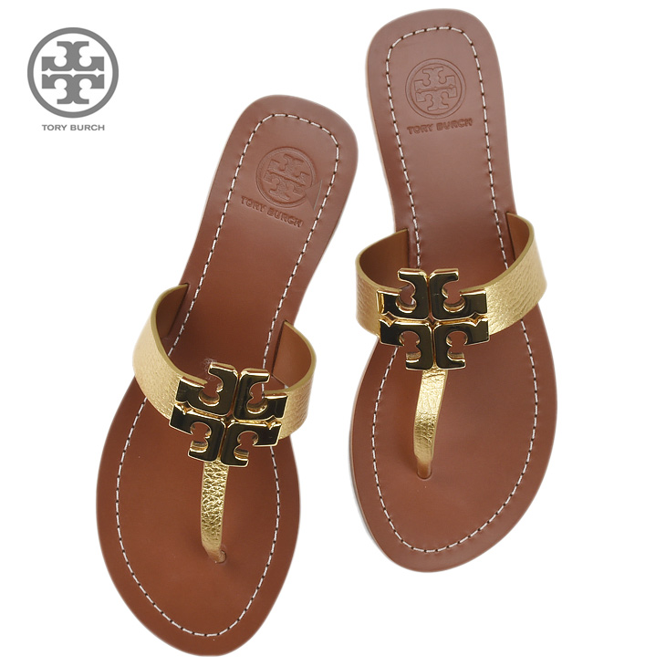 4557f3108e9 Cloud Shoe Company: TORY BURCH Tolly Birch 11168520/700 sandals GOLD ...