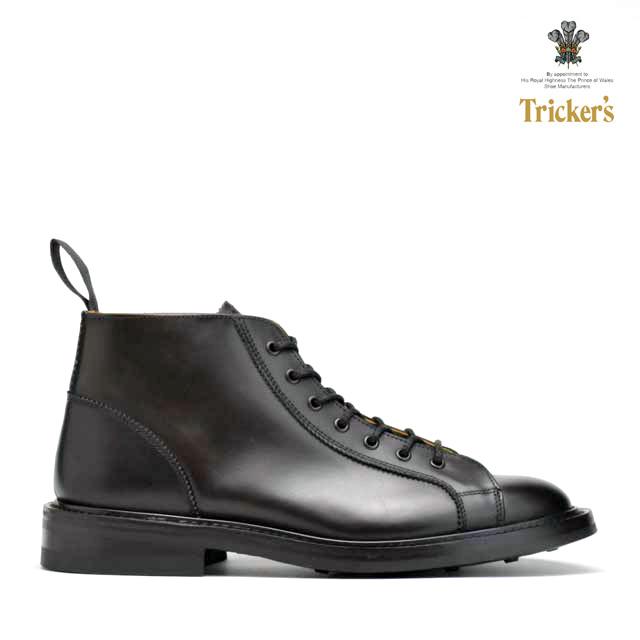 トリッカーズ TRICKER'S M6077 ESPRESSO7HOLES MONKEY BOOTS LACE UPM6077 エスプレッソ 7ホール モンキー ブーツ ダイナイトソール マルーン