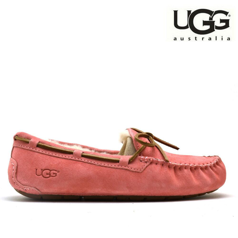 98dbfd44bad アグ UGG 5612 DAKOTA LANTANA Dakota moccasins suede moccasins slip-ons pink  system Lady's