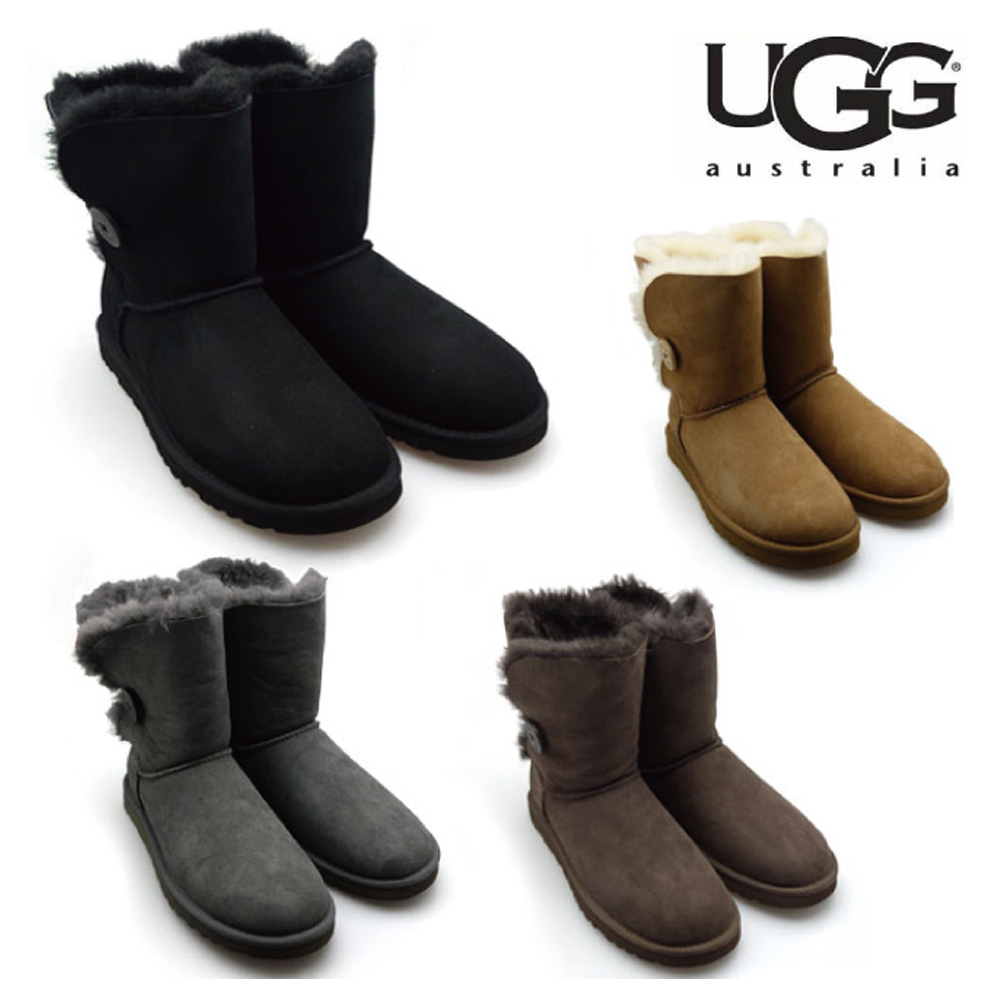 UGG アグ BAILEY BUTTON ベイリーボタン ムートンブーツ 5803[co-3]