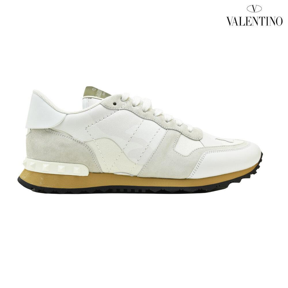 ヴァレンティノ VALENTINO PY2S0723TCC/0BO ROCKRUNNER SNEAKER WHITE ロックランナー スニーカー ローカット ホワイト 白 メンズ【送料無料】