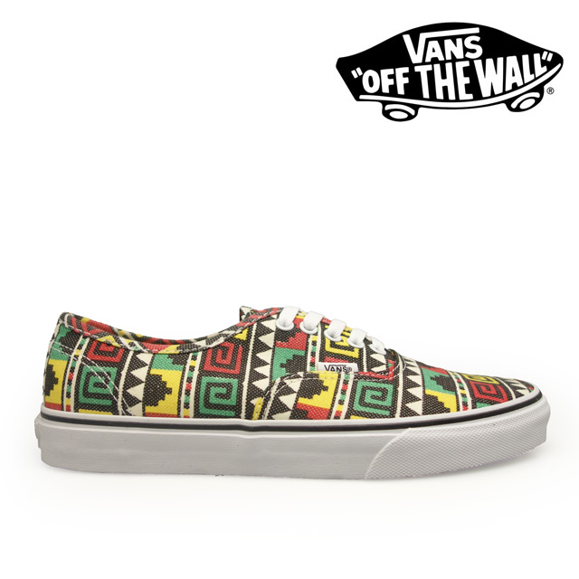 VANS vans shoes Authentic (Geo) BlackRasta VN 9zukff7