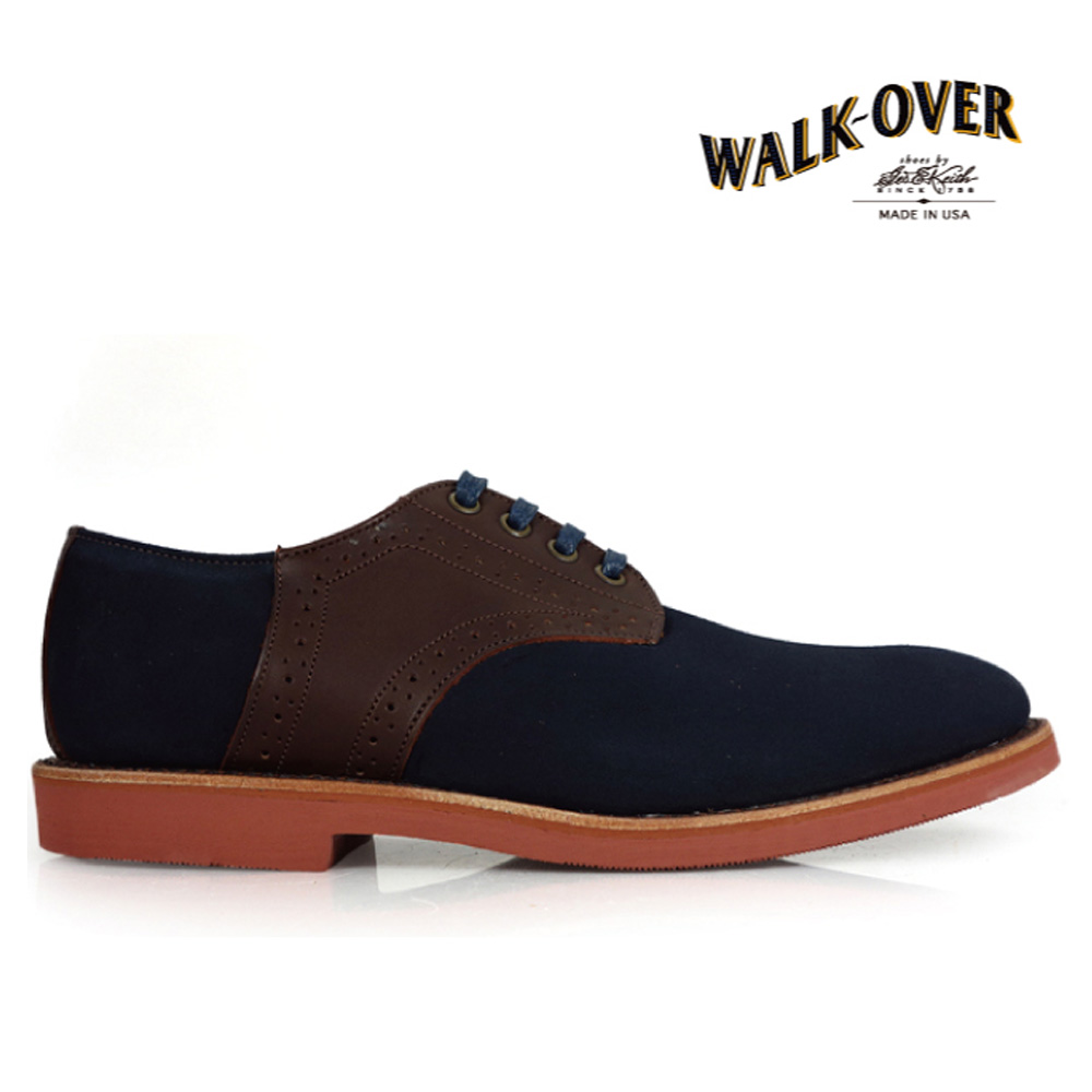 ウォークオーバー WALK-OVER SINATRA BURNT SUGAR SUEDE 05434ダービー WALKOVER 05434