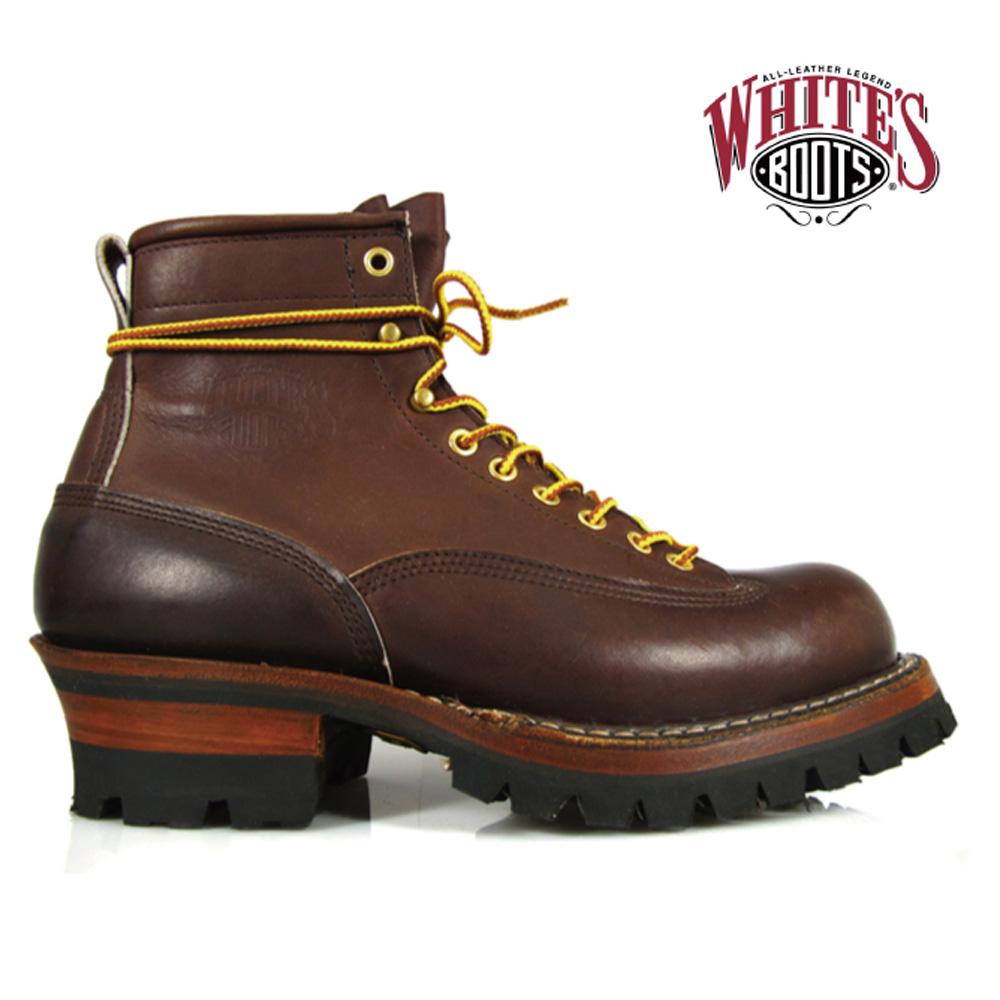 ホワイツ スモークジャンパー White's Boots 350MVLTTRT BROWN DOM SMOKE JUMPER ワークブーツ[co-50]