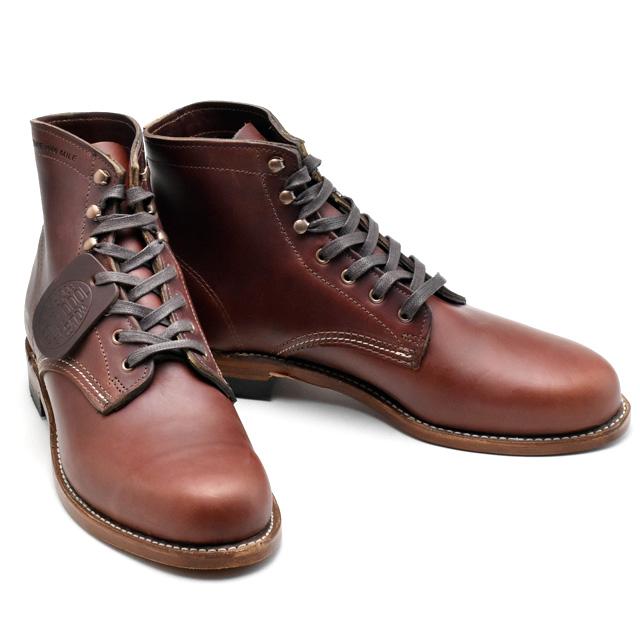 cloud shoe company wolverine wolverine 1000mile boots w05299 rust