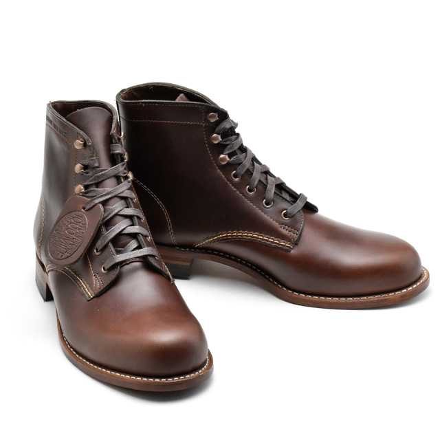 Wolverine WOLVERINE 1000MILE BOOTS W05301 BROWN Wolverine 1,000 mile boot W05301 Brown Vibram sole グッドイヤーウェルト method ◆
