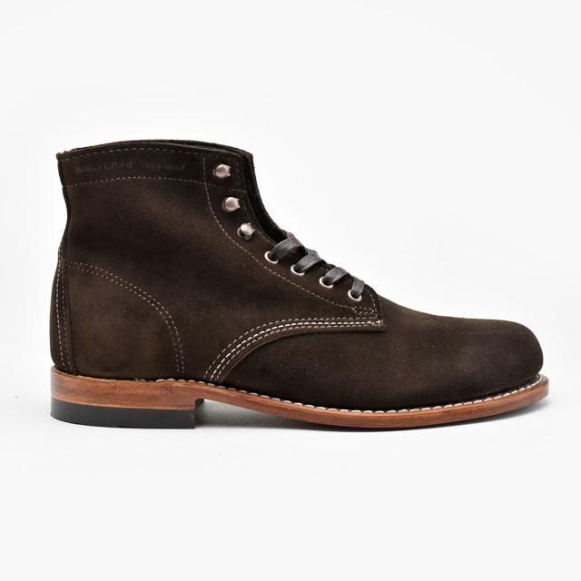 【お家DEお買い物】 ウルヴァリン 1000マイルブーツ WOLVERINE W40093 ブラウン スエード メンズ ブーツ 1000MILE BOOT Brown Suede MADE IN USA