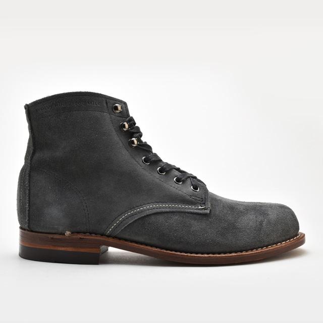 【お家DEお買い物】 ウルヴァリン 1000マイルブーツ WOLVERINE W40193 グレー スエード メンズ ブーツ 1000 MILE BOOT Grey Suede MADE IN USA