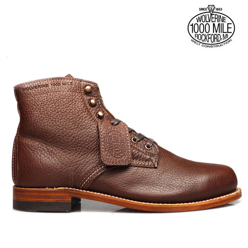 ウルヴァリン 1000マイルブーツ WOLVERINE W00913 100周年ビブラムソール グッドイヤーウェルト製法 メンズ ブーツ CenntenniAl 1000MILE BOOTS