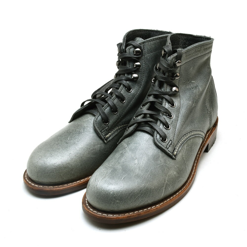 3af4f3c4781 Wolverene WOLVERINE W40579 1000 MILE 6 inches BOOT GREY boots shoes gray  leather men