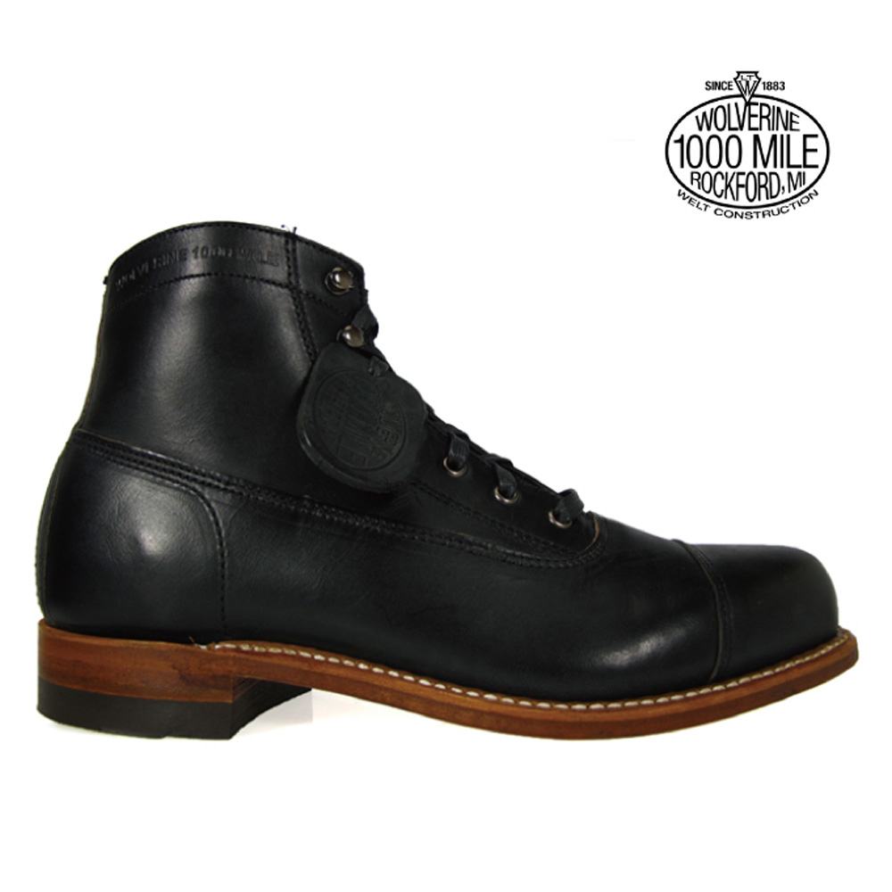 128eef136f2 Wolverene 1,000 miles boots WOLVERINE W05292 sheepberry wink ROM Excel cap  toe men boots ROCKFORD 1000MILE Horween Chromexcel LeAther CAP-TOE BOOT