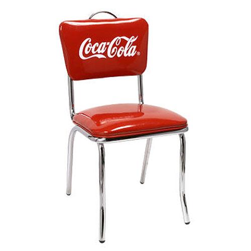 COCA-COLA BRAND コカコーラブランド Vバックチェア「Coke V-Chair」 PJ-50HC インテリア 家具 アメリカ雑貨 アメリカン雑貨