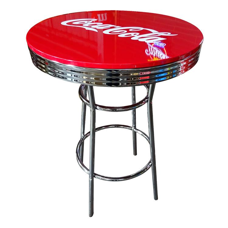 COCA-COLA BRAND コカコーラブランド ハイテーブル 「Coke HI-Table」 PJ-200T インテリア 家具 コーラ雑貨 アメリカ雑貨 アメリカン雑貨