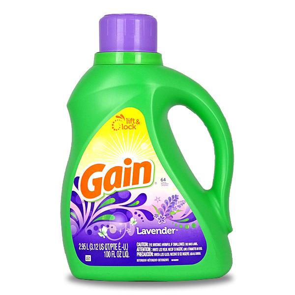 (6.65L/約146回分/添加酵素30%増量洗剤) 【Gain Original】 ゲインオリジナルセント 2本セット 【ゲイン/タイド洗剤】 [アメリカ製洗濯洗剤] 【送料無料】