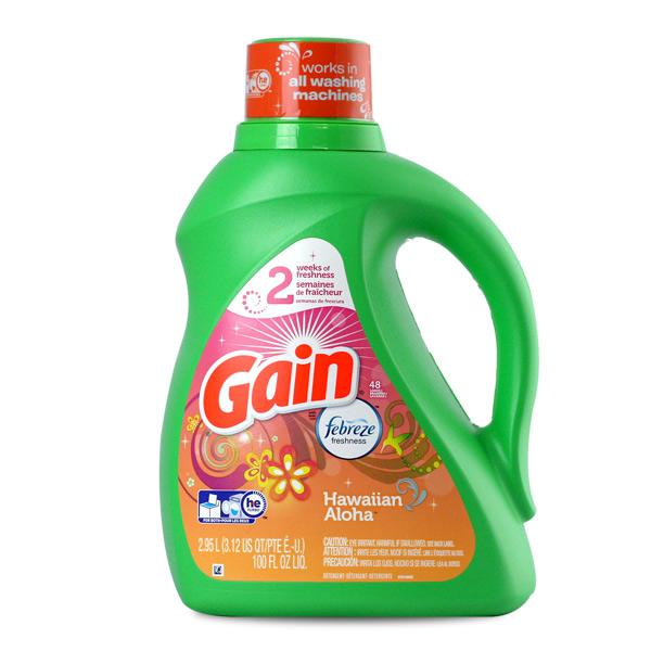 gain laundry detergent market segmentation