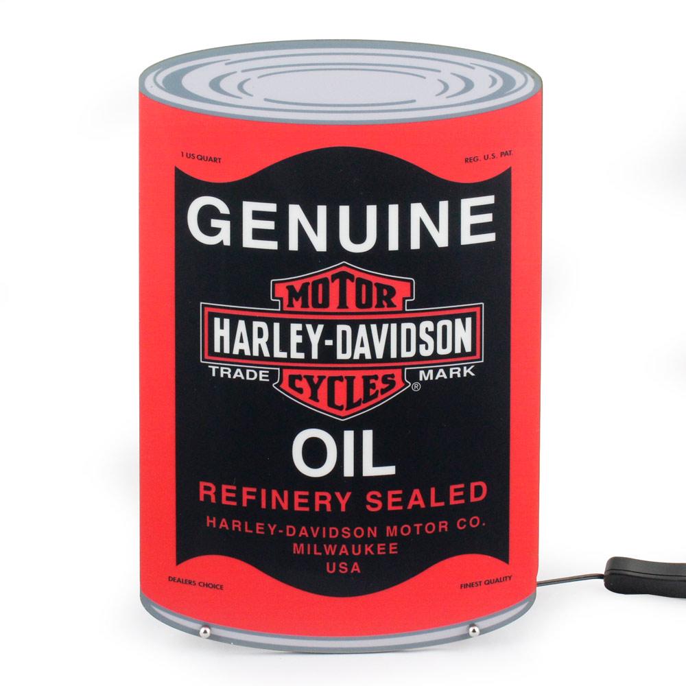 インテリア ライト オブジェ ハーレーダビッドソン オイルカンLEDライト HDL-15628 HARLEY-DAVIDSON アメリカ雑貨 アメリカン雑貨