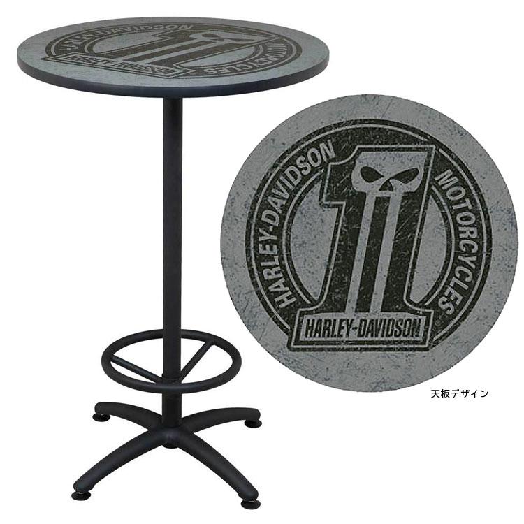 テーブル ハーレーダビッドソン ダークカスタム カフェテーブル HDL-12325 HARLEY-DAVIDSON アメリカ雑貨 アメリカン雑貨