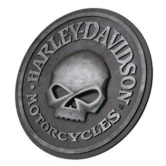 HARLEY-DAVIDSON ハーレーダビッドソン スカル パブサイン HDL-15311 アメリカ雑貨 アメリカン雑貨