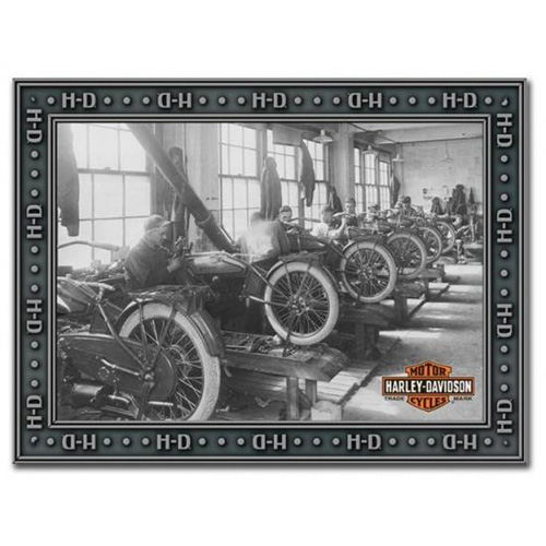 HARLEY-DAVIDSON ハーレーダビッドソン ファクトリーミラー HDL-15214 アメリカ雑貨 アメリカン雑貨