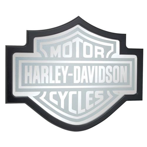 HARLEY-DAVIDSON ハーレーダビッドソン BAR & SHIELD ミラー HDL-15210 アメリカ雑貨 アメリカン雑貨