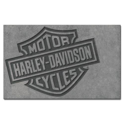 HARLEY-DAVIDSON ハーレーダビッドソン バー&シールド スモールエリアラグ HDL-19503 アメリカ雑貨 アメリカン雑貨