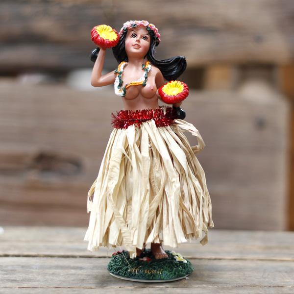 Vintage topless hula, bare naked desires