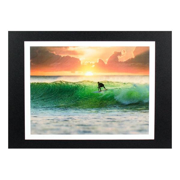 爽やかなサーフポスター ハワイアンポスター サーフィンシリーズ N-188 引き出物 正規激安 Surf Picture アートサイズ:縦21.5×横28.4cm