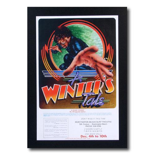 お部屋の雰囲気作りに 南国ハワイのポスター サーフムービーポスター バースデー 記念日 ギフト 贈物 お勧め 通販 L-76 A 流行 Tale サイズ:31.5×21cm アメリカン雑貨 アメリカ雑貨 WINTER'S
