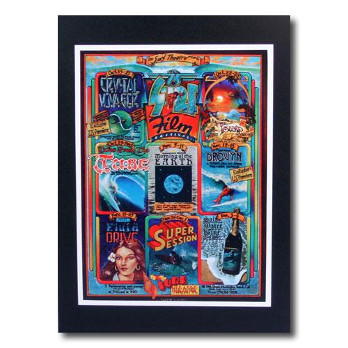 お部屋の雰囲気作りに 南国ハワイのポスター サーフムービーポスター L-113 いつでも送料無料 SURF アメリカン雑貨 キャンペーンもお見逃しなく アメリカ雑貨 サイズ:29×21.5cm Film FESTIVAL
