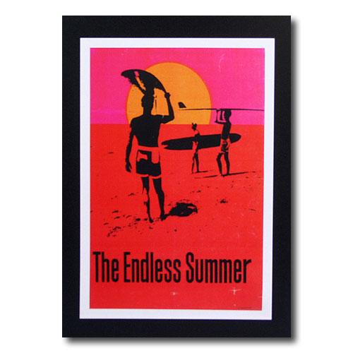 お部屋の雰囲気作りに 南国ハワイのポスター サーフムービーポスター L-124 信憑 The サイズ:31×21cm アメリカン雑貨 アメリカ雑貨 Summer バーゲンセール Endless