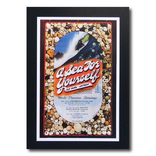 お部屋の雰囲気作りに 南国ハワイのポスター サーフムービーポスター 商い L-73 a Sea セール特価品 アメリカ雑貨 For サイズ:31×20.5cm Yourself アメリカン雑貨