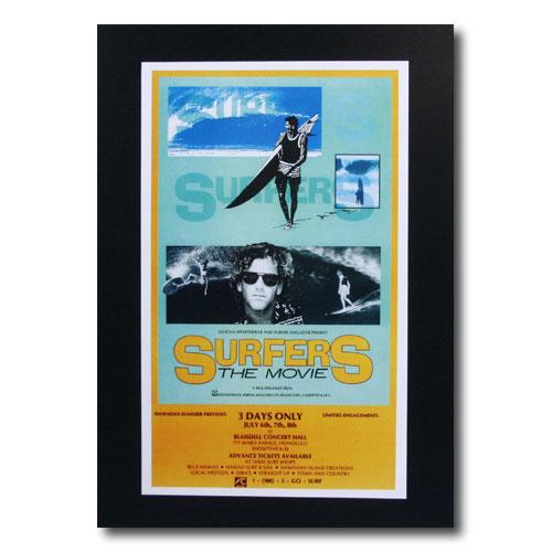 お部屋の雰囲気作りに 南国ハワイのポスター サーフムービーポスター L-88 SURFERS 5☆大好評 激安特価品 THE アメリカ雑貨 アメリカン雑貨 MOVIE サイズ:31×19cm