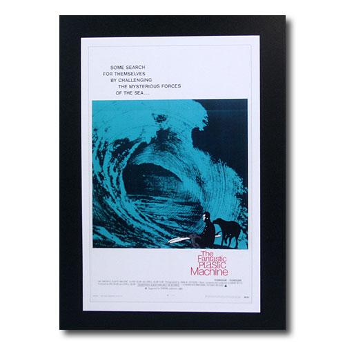 お部屋の雰囲気作りに 南国ハワイのポスター サーフムービーポスター L-90 The Fantastic サイズ:31×20cm アメリカ雑貨 Plastic 予約 Machine お得 アメリカン雑貨