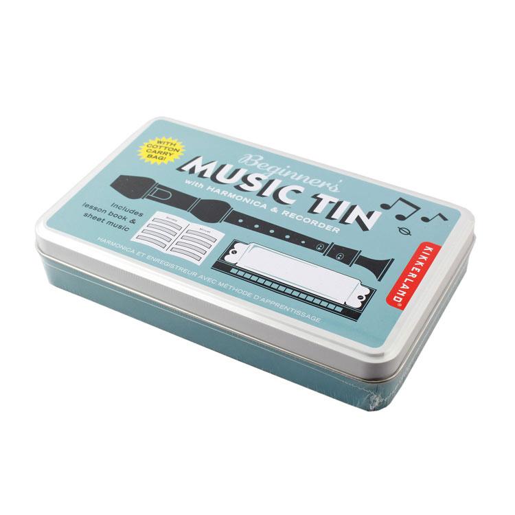 ハーモニカ リコーダーのセット KIKKERLAND キッカーランド 爆売りセール開催中 ティン 人気の製品 KGG174 ビギナーズ ミュージック