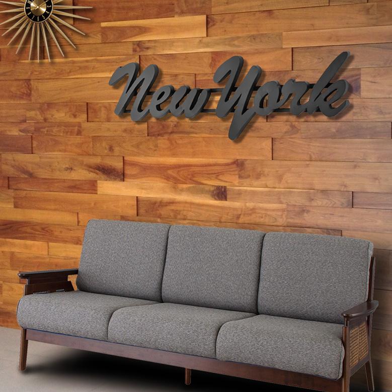 大型 オブジェ レタリングサイン 「NEW YORK」158cm ニューヨーク おしゃれ 看板 店舗用 西海岸インテリア アメリカ雑貨 アメリカン雑貨