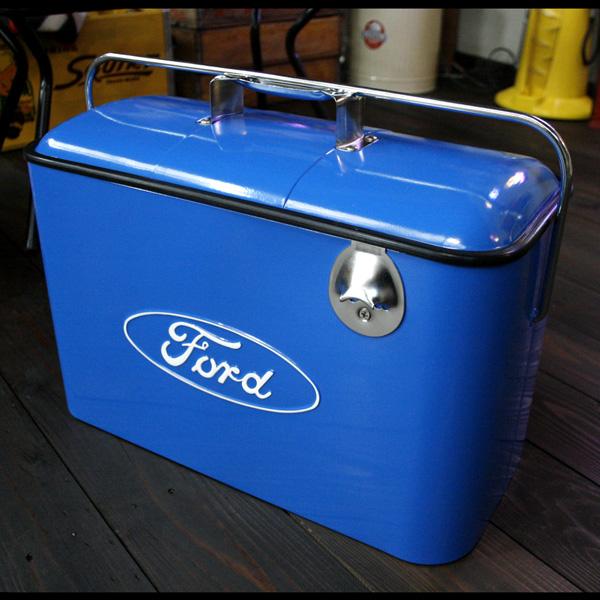クーラーボックス 保冷庫 アメリカ フォード ヴィンテージ ビバレッジクーラーボックス FORD アメリカン雑貨