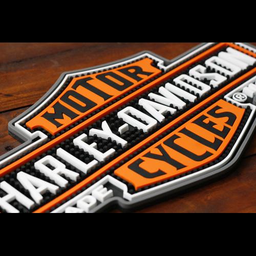 HARLEY-DAVIDSON ハーレーダビッドソン ノスタルジック B&Sビバレッジマット (グラスマット ) HDL-18510 アメリカ雑貨 アメリカン雑貨