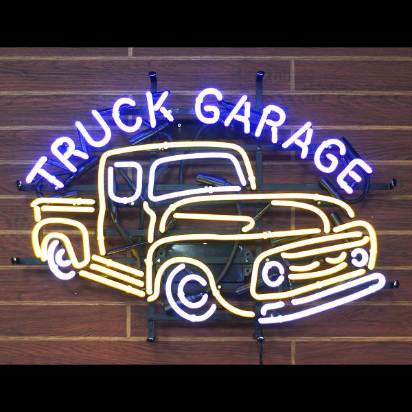 アメリカンネオンサイン 「TRUCK GARAGE トラックガレージ」 ネオン管 ガレージング アメリカンインテリア アメリカ雑貨 アメリカン雑貨