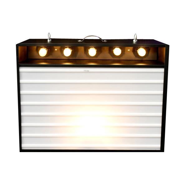 エレクトリックサインボード w ライト Sサイズ (ブラック )高さ53×幅70cm メニューボード 店舗看板 カフェインテリア アメリカ雑貨 アメリカン雑貨